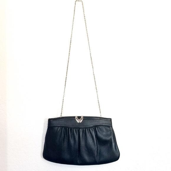 Ande Bags   Vintage Navy Blue Handbag Or Clutch   Poshmark ead7f2a1d6